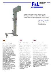 Art.-Nr.: 4.012.01 - F & L GmbH