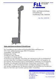Reinigungsmittel- Reinigungstechnik & - F & L GmbH