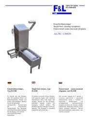 Art.-Nr.: 1.560.01 - F & L GmbH