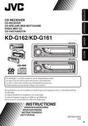 KD-G162/KD-G161