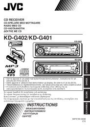 KD-G402/KD-G401