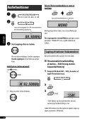 Kontrolpanel — KD-G442/KD-G441/KD-G351 - JVC Danmark - Page 6