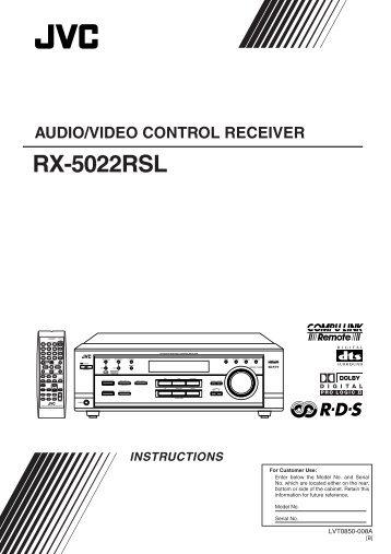 jvc rx 6000v receiver manual free owners manual u2022 rh wordworksbysea com
