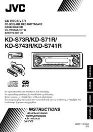 KD-S73R/KD-S71R/ KD-S743R/KD-S741R