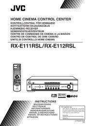 RX-E111RSL/RX-E112RSL