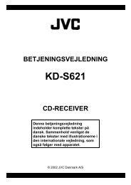 Brugsvejl KS-R370 Ny - JVC Danmark