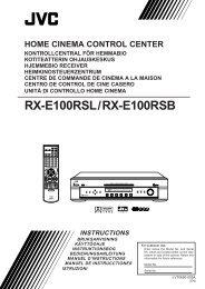 RX-E100RSL/RX-E100RSB