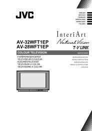 av-32wft1ep av-28wft1ep colour television