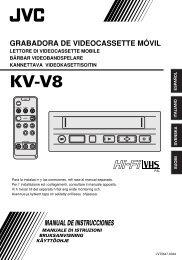 grabadora de videocassette móvil manual de instrucciones