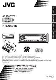 KD-S821R - Jvc
