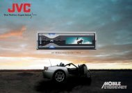 JVC Mobile Entertainment 2004