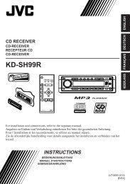 KD-SH99R - Jvc