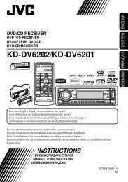 KD-DV6202/KD-DV6201 - JVC