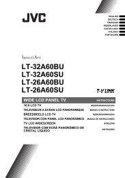 LT-32A60BU LT-32A60SU LT-26A60BU LT-26A60SU - Jvc