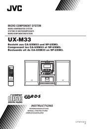 UX-M33 - Jvc