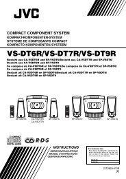 VS-DT6R/VS-DT7R/VS-DT9R - JVC