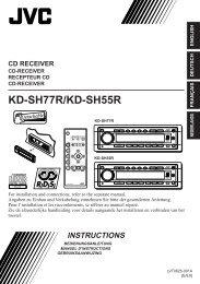 KD-SH77R/KD-SH55R - Jvc