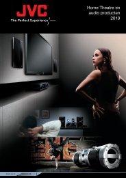 Home Theatre en audio producten 2010 - Jvc