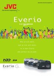 Wie je ook bent, wat je ook wilt doen, er is een Everio die ... - Jvc