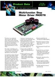 LD0032-02GB - JVL Industri Elektronik A/S