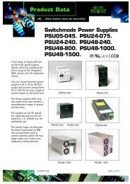 datasheet - JVL Industri Elektronik A/S