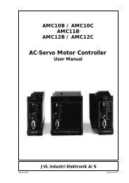 User Manual - JVL Industri Elektronik A/S