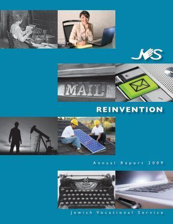 Reinvention - Jewish Vocational Service