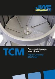 Pansenreinigungs- maschinen Tripes Cleaning Machines