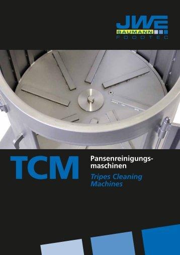 Pansenreinigungs- maschinen Tripes Cleaning Machines