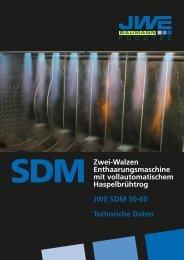 Technische Daten SDM 50-60 - JWE-Baumann GmbH