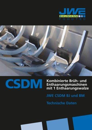 Technische Daten CSDM Baumann - JWE-Baumann GmbH