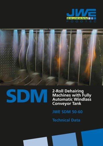 Technical data SDM 50-60 - JWE-Baumann GmbH