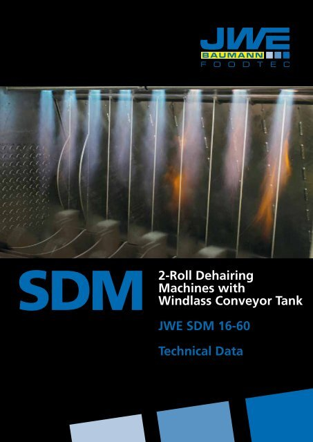 Technical data SDM 16-60 - JWE-Baumann GmbH
