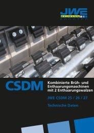 Technische Daten CSDM - JWE-Baumann GmbH
