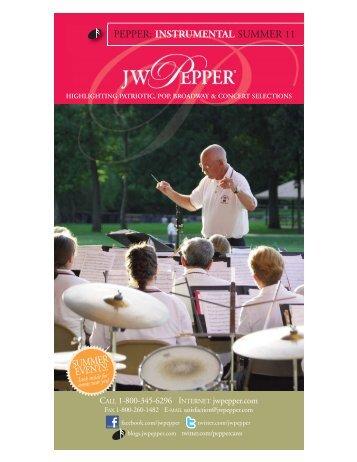 instrumental summer 11 - JW Pepper