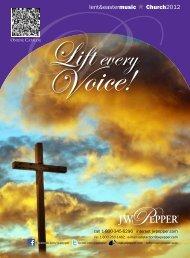 lent&eastermusic o church2012 - JW Pepper