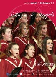 musicforchurch O Christmas2011 - JW Pepper