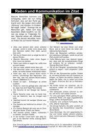 Reden und Kommunikation im Zitat - Dr. Dr. med. Herbert Mück