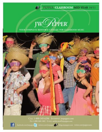 Mid Year Catalog - JW Pepper