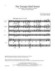 Hopson - Trumpet shall - Trpt 1 in B flat.mus - JW Pepper