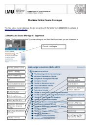 The New Online Course Catalogue