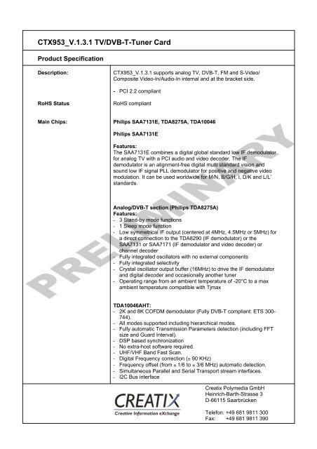 AMBIENT CREATIX V.90 HAM TELECHARGER PILOTE