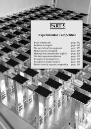 Experimental Problems and Solutions (pdf)
