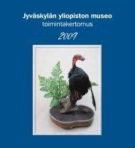 Toimintakertomus 2009 - Jyväskylän yliopisto