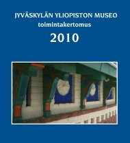 Toimintakertomus 2010 - Jyväskylän yliopisto