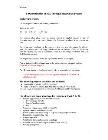 Experimental Question 1 Problem (pdf)