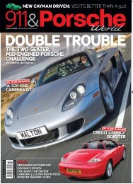 the two-seater, mid-engined porsche challenge - JZ Machtech