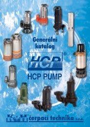 Generální katalog čerpadel HCP - Čerpadla