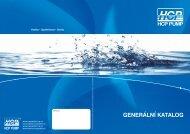 generální katalog čerpadel hcp 2012
