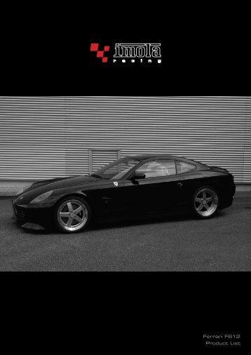 Ferrari F612 Product List - Dimex Group